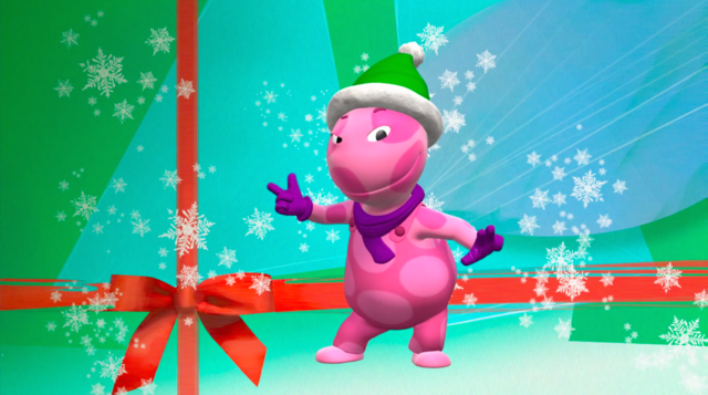 File:The Backyardigans Uniqua as Snappy the Elf.png