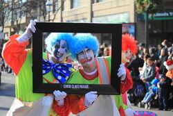 Toronto Christmas Parade Celebrity Clowns
