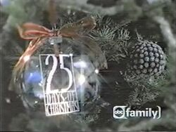 25 Days of Christmas logo from 2001