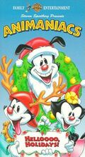 Animaniacs Christmas VHS
