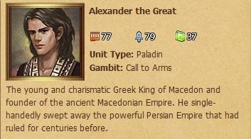 Alexander - Status Window