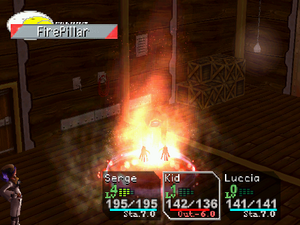 FirePillar Element