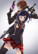 Rikka and Dark Flame Master