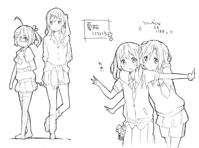 File:Rikka Takanashi, Shinka Nibutani, Kazari Kannagi and Miyoshi.jpg