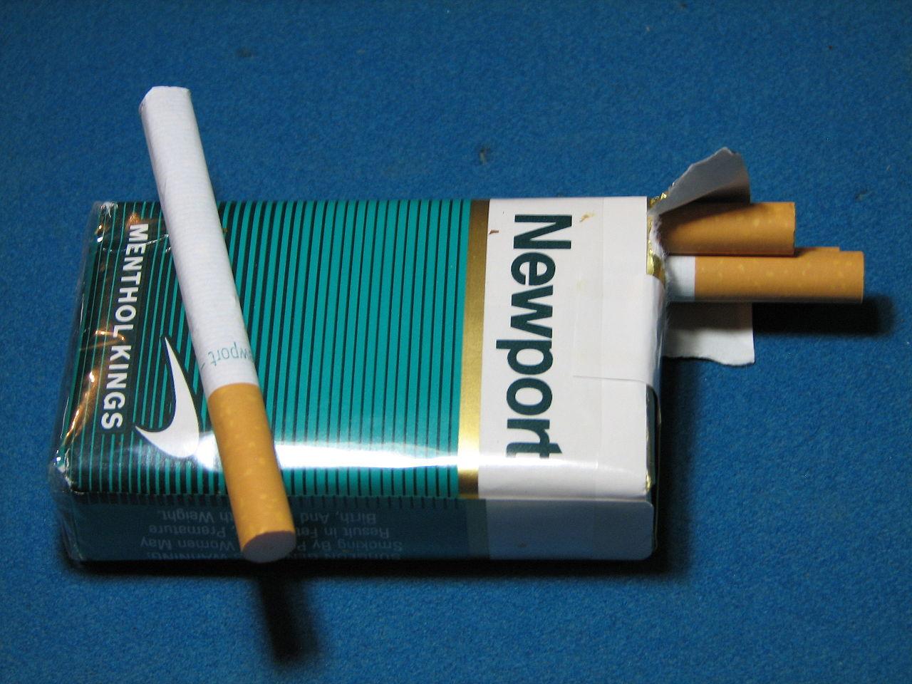 Benson Hedges cigarette in USA