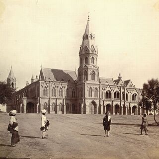 Government College of Lahore 1880s.