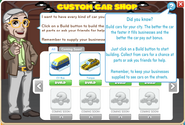 Custom Car Shop menu2
