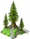 Giant Redwood Tree-SW