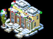 Upscale Condos snow