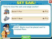 Set Sail! goals