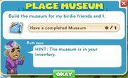 Place museum goals
