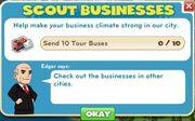 Scout Businesses goals
