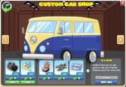 CV Bus menu