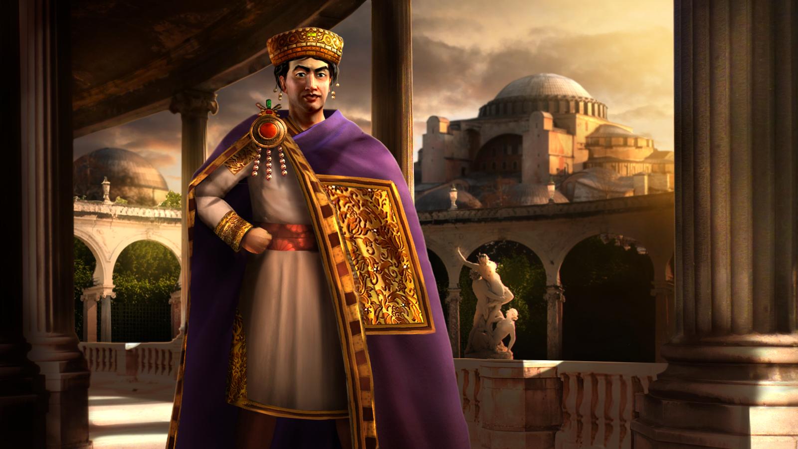 Byzantium (Justinian I) | Civilization V Customisation Wikia ...