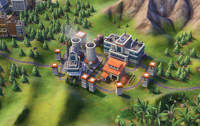 Civ 6 Electronics factory