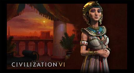 Civ6 splash Cleopatra