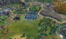 Hermitage in-game (Civ6)