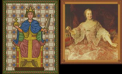 Friedrich II and Maria Theresa (Civ2)