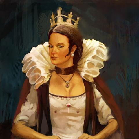 Concept art of Elizabeth