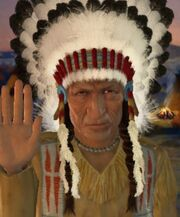 Sitting Bull welcoming