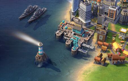 Civ6 Royal dockyard