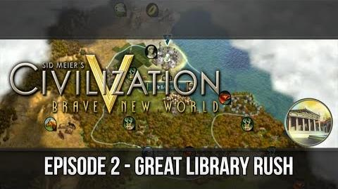 Civilization 5 Rushing Great Library - Tutorial Series Ep. 2