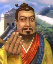 Qin Shi Huang welcoming