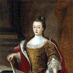 Queen D. Maria I of Portugal, by Miguel António do Amaral (1777)