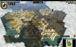 ZeroOne Conquest of the New World game as Inca on turn 11