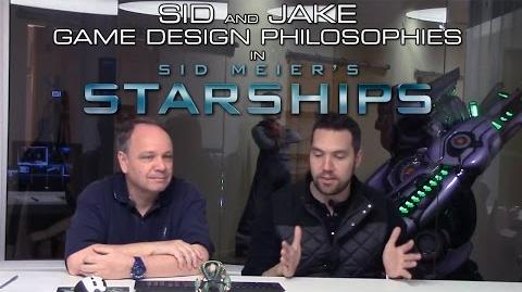 Sid Meier, Jake Solomon talk design philosophy in Starships