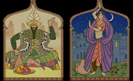 Xerxes and Scheherazade (Civ2)
