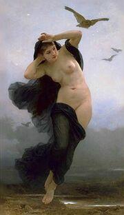 William-Adolphe Bouguereau (1825-1905) - La Nuit (1883)
