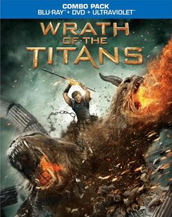 Wrath of the Titans (Blu-ray) Combo pack