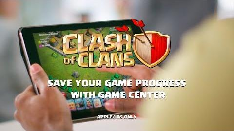 Clash of Clans Save your Game Progress with Game Center (iOS)