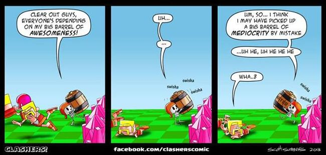 Clashers Commic 15