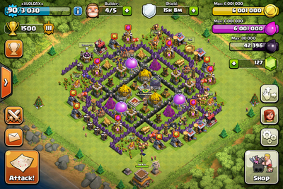 Layouts clash of clans wiki wikia
