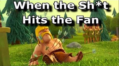 When the Sh*t Hits the Fan Overcoming Fails in Clash of Clans Funny coc Attacks