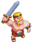Barbarian Clash Of Clans Level 3 & 4