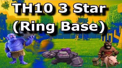 TH10 3 Star RING BASE How to Become a Great Attacker in COC!?! GoHoBo TH10 3 Star