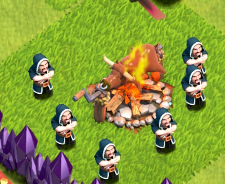 clash of clans level 5 wizards – Donkey Punch Gaming