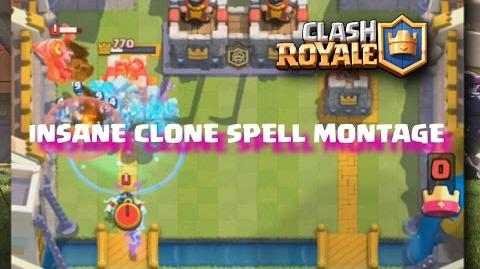 INSANE CLONE SPELL 2v2 GAMEPLAY! Clash Royale