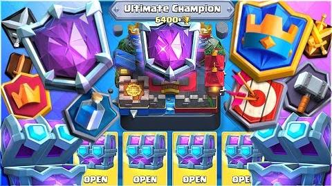 Clash Royale ALL LEGENDARY LEAGUES & REWARDS - New Update
