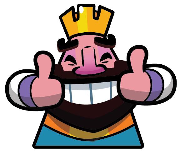 elit templates sticker - image happy clash royale wikia fandom