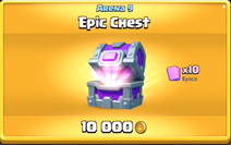 Epic chest offer
