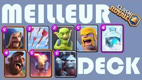 Vid o clash royale le meilleur deck wikia for Meilleur deck arene 4