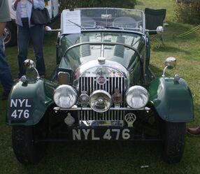 Morgan 4 front