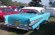 Sky blue chevy 1