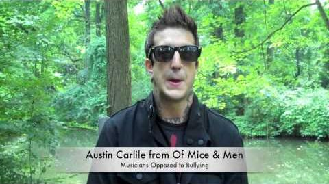 Austin Carlile from Of Mice & Men Talks About Bullying
