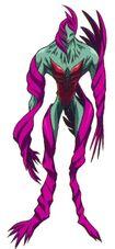 Hilda 's awakened form in the anime