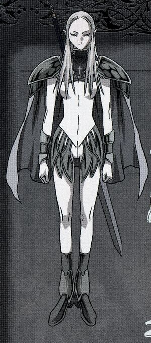 Ilena in Uniform
